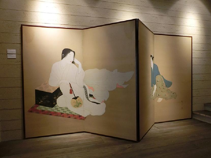 祇園祭に関係した屏風絵展・資料展