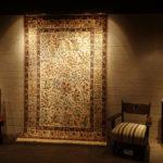 ダラコレクション ペルシャ絨毯 展示風景