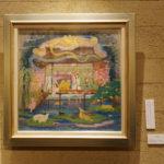 寺本圭佑 中井智子 アイリッシュハープ×日本画展 ~ハープは描き、絵は奏で~